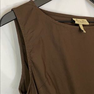 LINDY BOP fit/flare circle skirt in chocolate